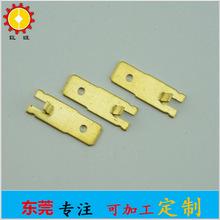 东莞五金工厂生产大量供应插片端子冲压件端子黄铜端子物美价廉