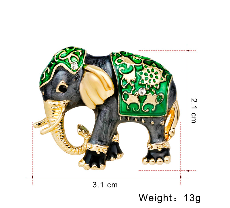 Alloy Fashion Animal brooch(AG142-A) NHDR2455-AG142-A