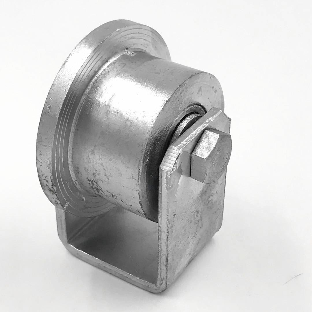 脚轮万向轮轴承轮子T型轨道吊轮铸铁轮滑轮单边铁轨槽轮厂家直销