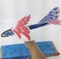 新款超大回旋飞机 DIY手工泡沫飞机弹射飞机特大号手投飞机