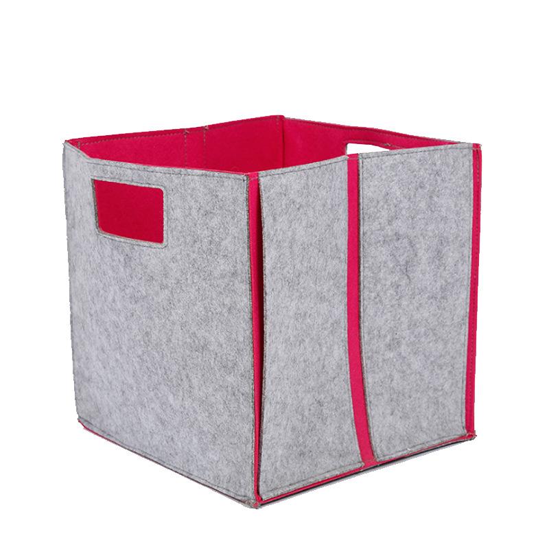 【毛毡包】收纳整理袋定制毛毡收纳箱厂家批发羊毛毡收纳包