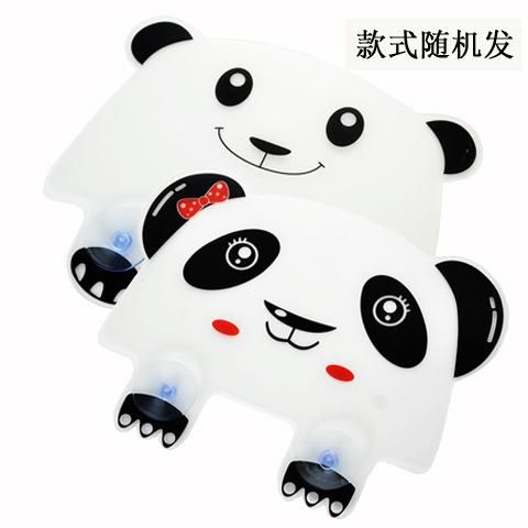 panda đáng yêu chịu Laid GJ chìm giật gân hồ bơi không thấm tấm vách ngăn tấm chắn với cốc hút 50g Dụng cụ nhà bếp khác