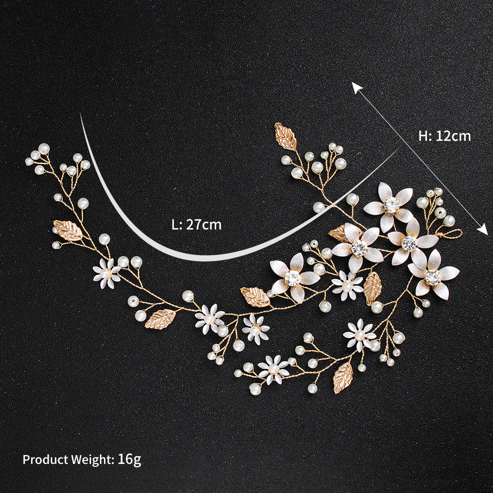 Alloy Fashion Flowers Hair accessories  (Alloy) NHHS0521-Alloy