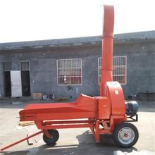 传动轴牵引式牛羊饲料铡草机 行走式青贮铡切机 秸秆切碎机