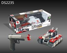 爆款坦克出擊射擊游戲玩具槍   紅外線激光射擊訓練槍  電動玩具