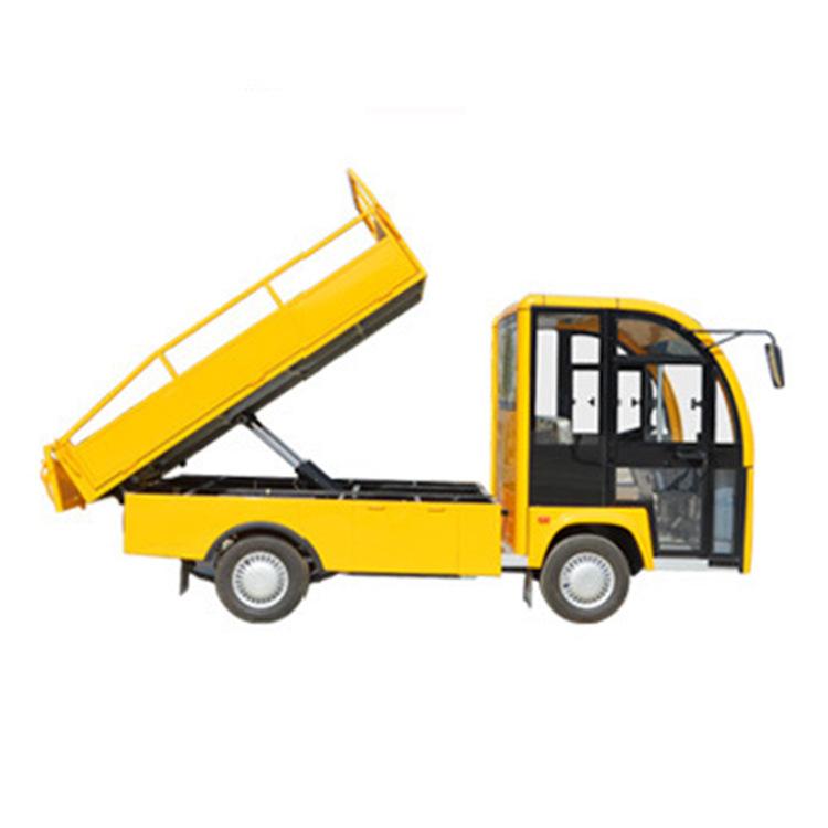 四轮电瓶自卸车 湖北电动观光车厂家 箱式搬运货车