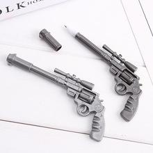 厂家直销新款小学生手枪圆珠笔创意学习文具儿童小礼物玩具圆珠笔