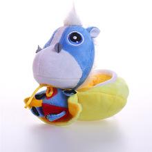 来图定做毛绒玩具公司吉祥物企业logo定制订做吊饰超人疣猪布娃娃
