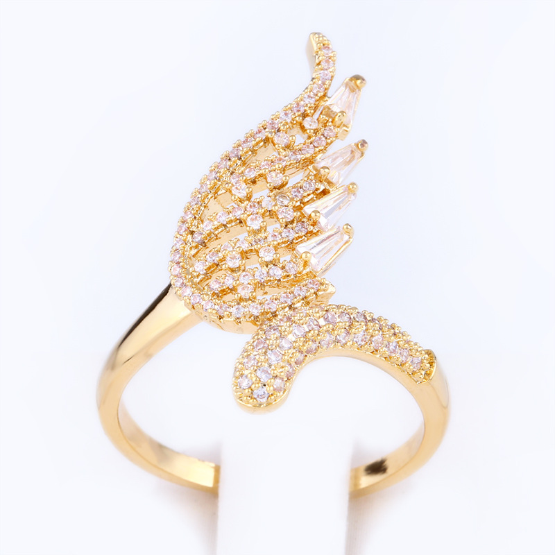 Copper Fashion  Ring  Alloy7  Fine Jewelry NHAS0305Alloy7