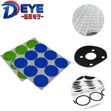 环保防水密封硅胶垫片 自沾防滑减震消音硅胶脚垫 无线充防滑垫圈