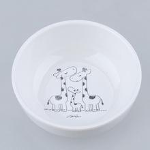 五和密胺餐具简约式自然物语韩式小碗 ZR-B-4(鹿之家.夏日)