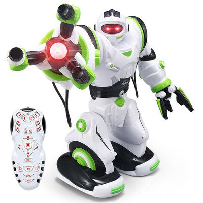 智能遥控机器人 唱歌跳舞语音对话互动卡尔文 充电动玩具男孩礼物