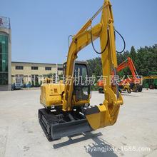 起扬机械Qw60-7履带挖掘机液压360旋转进口配置