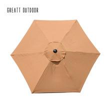 廠家直銷 戶外中柱傘 配家具露天太陽傘室外大庭院傘遮陽傘