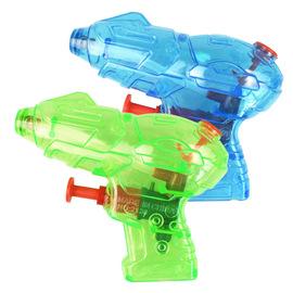 New summer children's beach bathing drifting water toys water gun children's toys transparent small water gun 2138-1