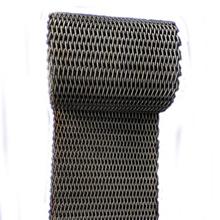 耐灼烧三角挡条网带  不锈钢网带 包装机械输送带