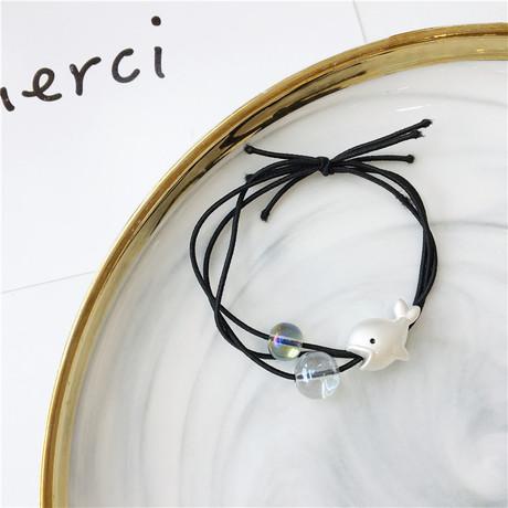 Bong bóng mùa hè nàng tiên cá nhổ bong bóng phụ kiện tóc tiara dây tóc cao su ban nhạc nhập khẩu phong cách màu tóc Nhật Bản