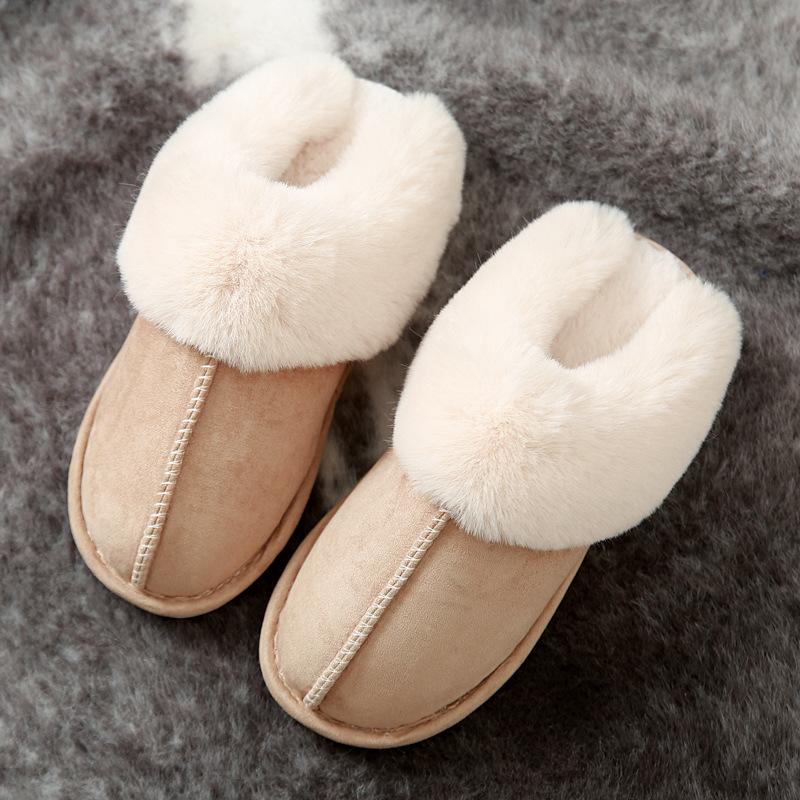 2020爆款棉拖鞋女秋冬季家居情侣保暖家用居家毛绒男月子批发棉鞋