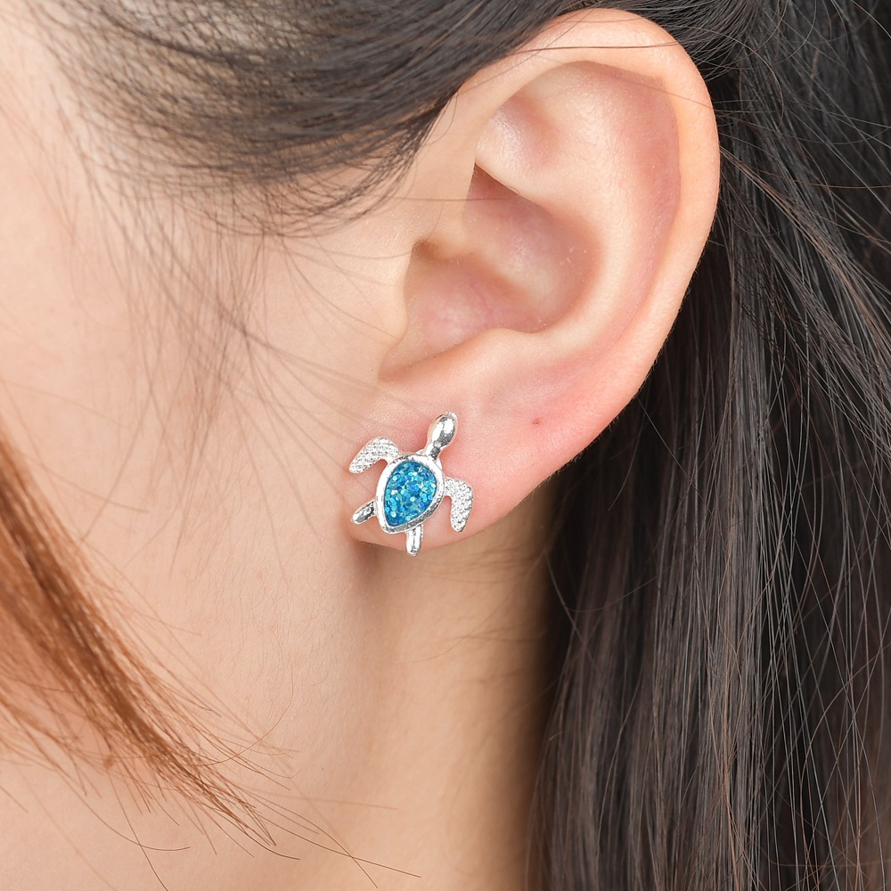 Alloy Simple Geometric earring  (Photo Color) NHBQ1660-Photo-Color