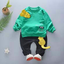 童装儿童春款套装2018新款0-4岁中小童休闲两件套男女宝宝