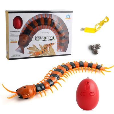 Ngoại thương lừa đồ chơi hồng ngoại điều khiển từ xa điện nhện 蟑螂 Mô phỏng cảm ứng cricket điện nhện kiến