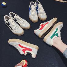 2018秋季新款帆布鞋学生系带时尚韩版低帮透气滑板鞋男士小白鞋