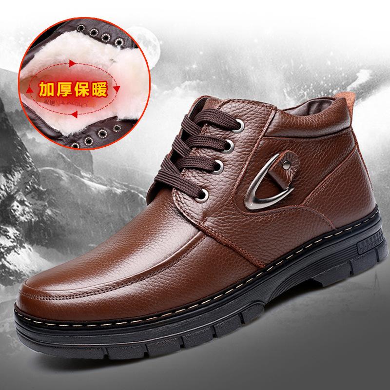 男式雪地靴