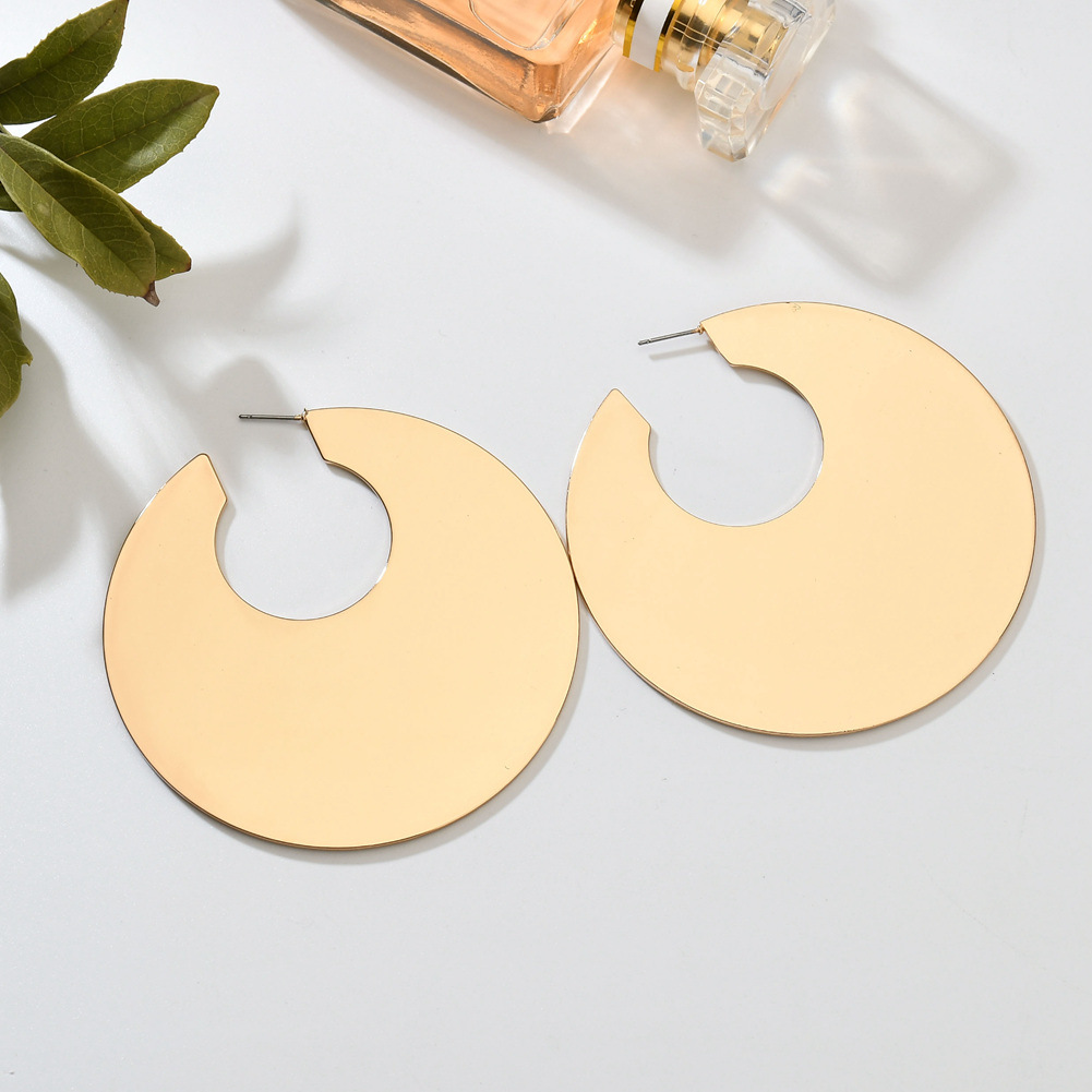 Alloy Fashion Geometric earring(Photo Color) NHBQ1249-Photo Color