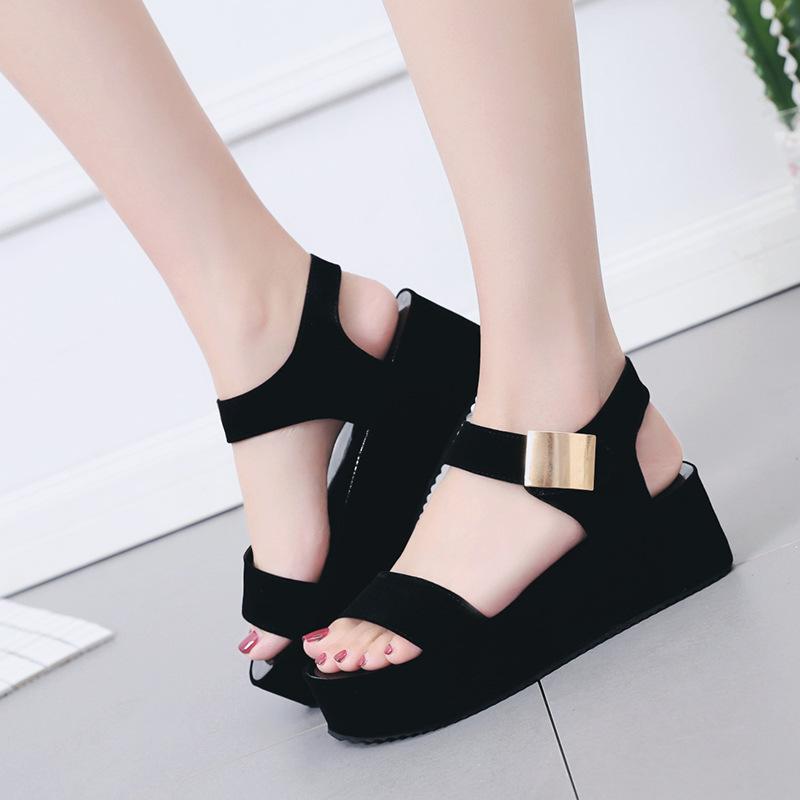 Summer new Korean fashion women's sandal...