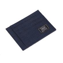 杰米路新款韩版布男可爱钱包卡包卡套纯色尼龙驾驶证一体卡夹批发