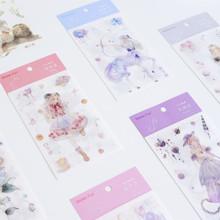 韩国文具批发 十二星座和纸贴纸 装饰贴纸 手账贴纸 创意贴纸