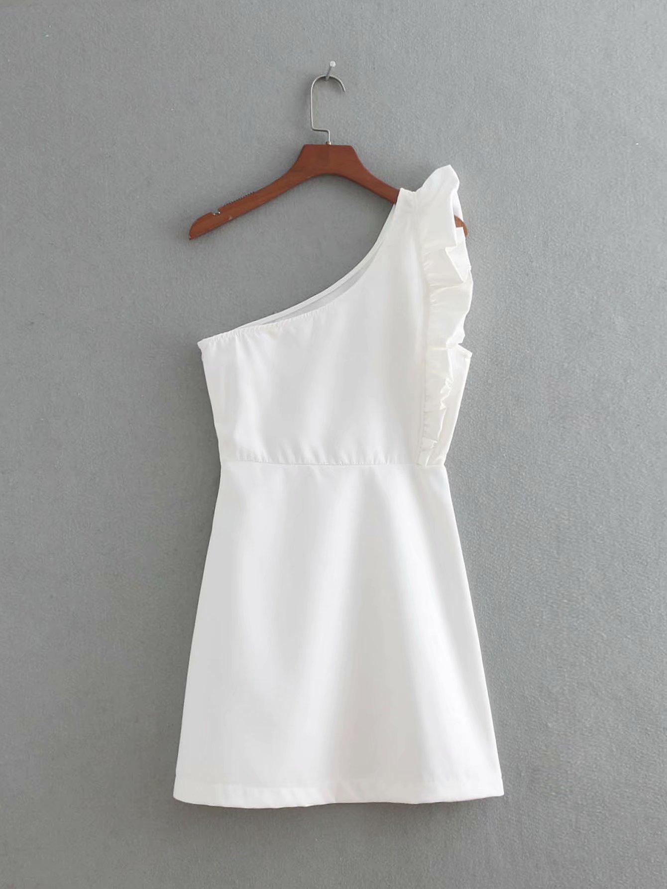 Polyester Fashionskirt(Black-S) NHAM4400-Black-S