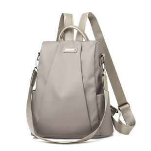 Backpack women 2019 new Korean style trendy wild simple casual Oxford cloth ladies travel backpack bag