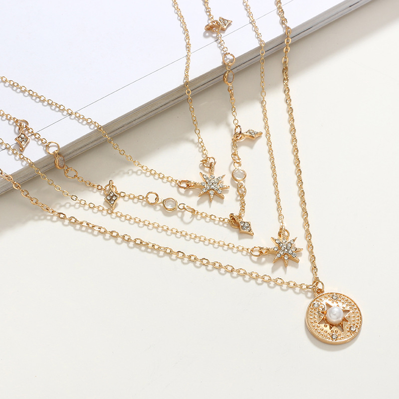 Alloy Simple Geometric necklace  Alloy NHGY2634Alloy