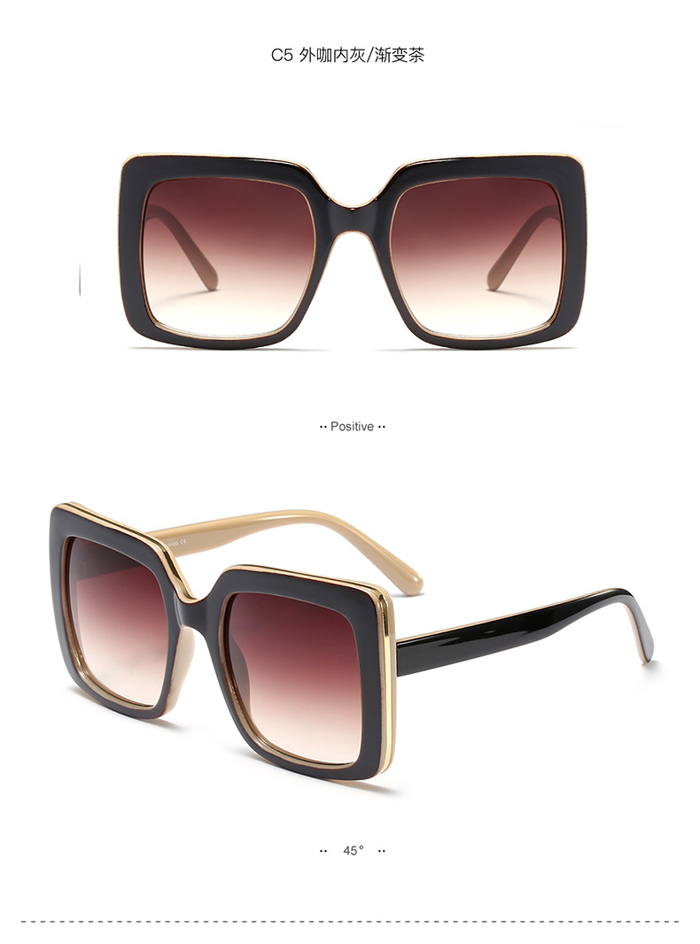 Plastic Fashion  glasses  (As shown in Figure-C1)   NHFY0674-As-shown-in-Figure-C1