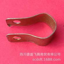 廠家批發防雷鍍鋅扁鋼接地卡DN150 管卡 金屬 跨接卡 U型卡箍抱箍
