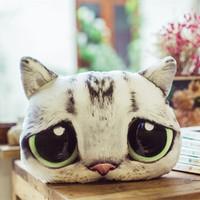 Креативная подушка для головы комедии плюшевые Игрушечный котенок кукла талия подушка День святого Валентина в подарок Подарок девушки