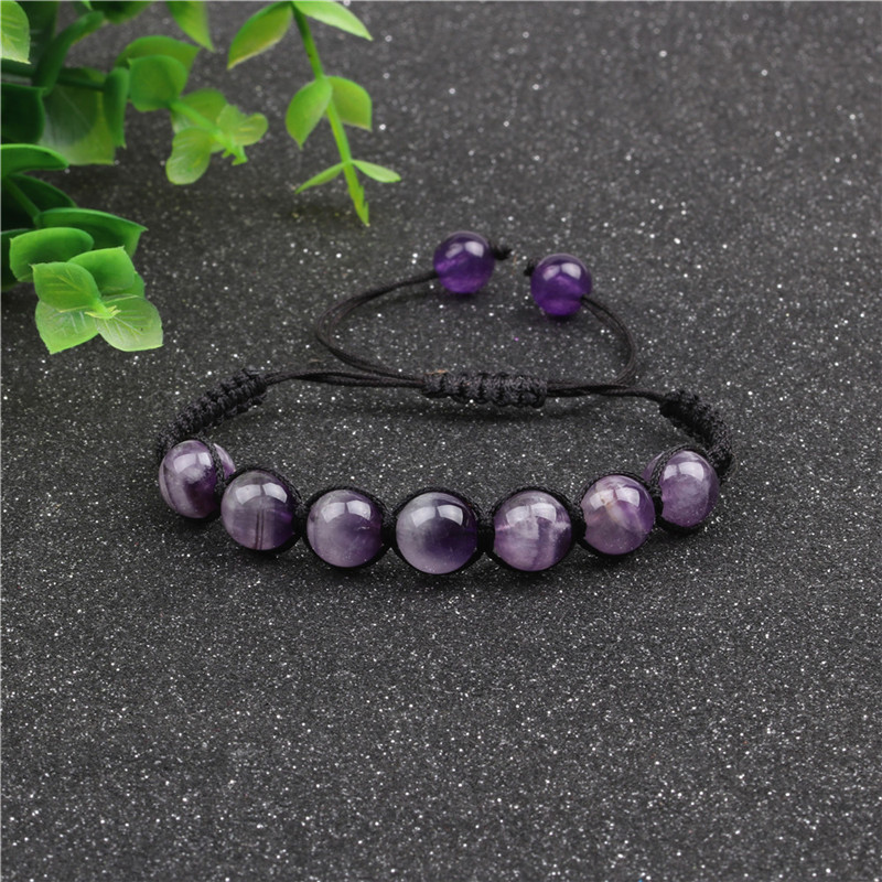 Natural Stone Fashion Animal bracelet  purple NHYL0133purple