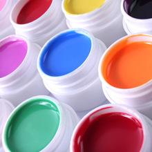 外贸热销 12色实色光疗胶 12色装 UV胶 美甲用品批发