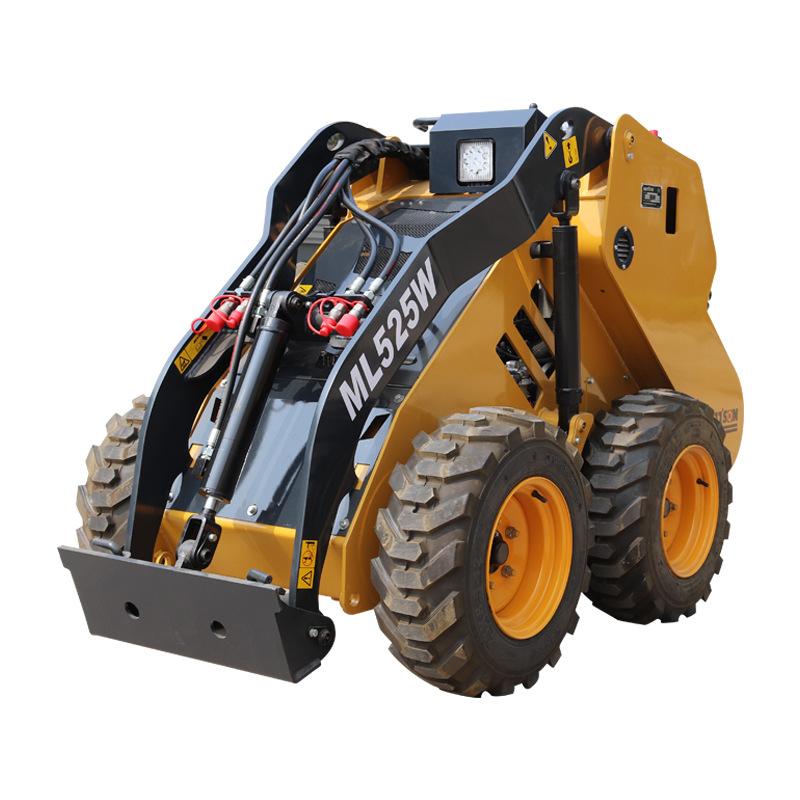 轮胎式滑移装载机 适用于小型空间工作机械 进口发动机 质量可靠
