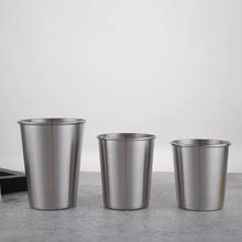 500ML不锈钢啤酒杯 喷漆办公杯子汽车水杯 咖啡杯具礼品杯