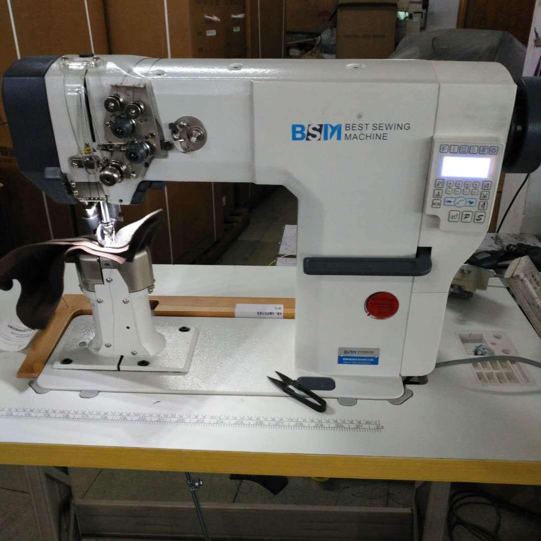 中捷贝斯曼电脑罗拉车9620 双针罗拉车 制鞋厂品牌缝纫机
