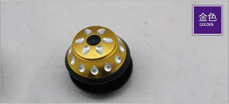 供應批發 CNC 鋁合金散珠車頭碗 44MM內置碗組金色 加盟代理