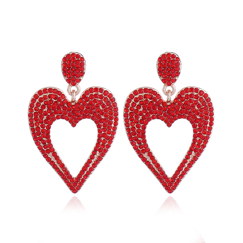 Alloy Fashion Sweetheart earring(white) NHVA4772-white