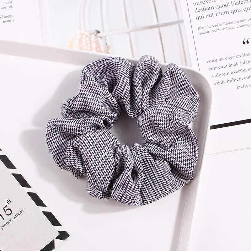 Spring New Fashion Stripe Dot Dot Houndstooth Cheap Hair Circle Wholesale NHDM205028