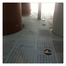厂家定做钢格栅盖板/电厂镀锌踏步钢格板规格/排水沟钢格板