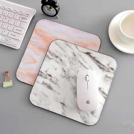 P455 Bắc Âu ins bàn bàn mat Marbled mouse pad dây đeo cổ tay dày bàn phím máy tính xách tay