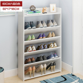 Simple multi-layer shoe rack household economical dormitory dustproof storage shoe cabinet space saving assembly small shoe shelf