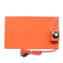 厂家直销硅橡胶加热板 可调温硅胶加热板硅胶印花机发热板