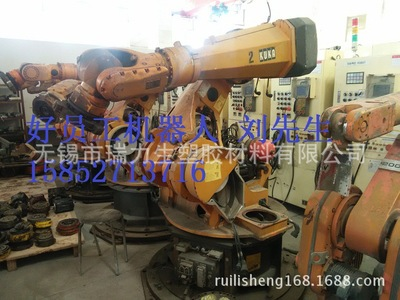 自动化六轴机械手 桁架压铸哈模机械手 小型立式机械手臂厂家